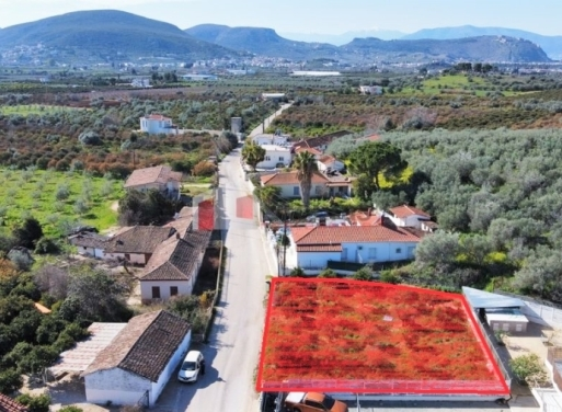 Agios Adrianos Grundstück 550 qm