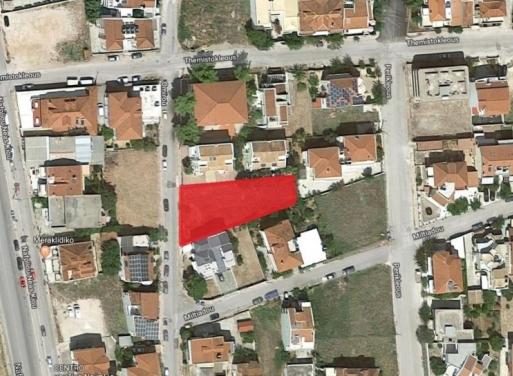 Nafplio Zentrum Grundstück 674 qm