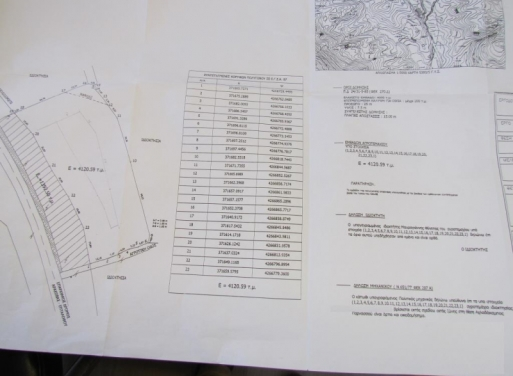 Arachova Landparzelle 4.120 qm